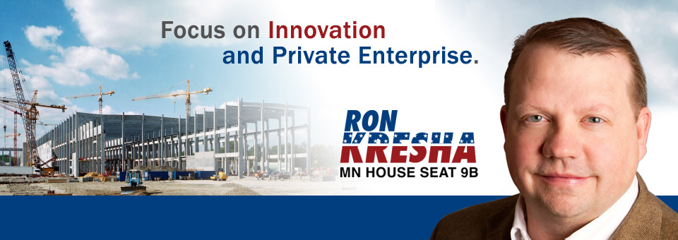 Banner 2: Innovation and private enterprise